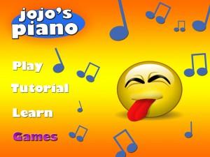 jojo's piano home page-gamesclicked