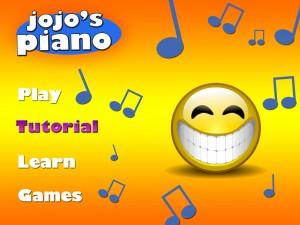 jojo's piano home page-tutorialclicked