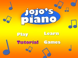 jojo's piano home page-tutorialclicked